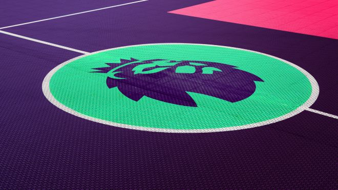 Premier League logo - Brandnew - flooring